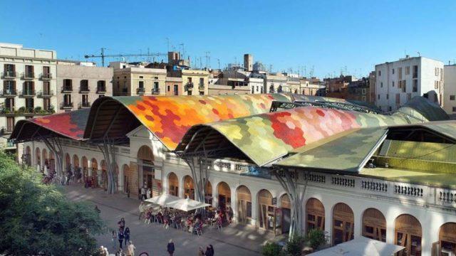 Mercat de Santa Caterina - Markets in Barcelona