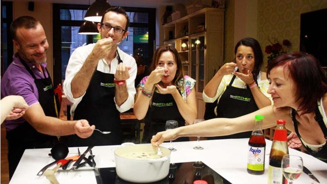 Cooking class in Barcelona at bcncooking