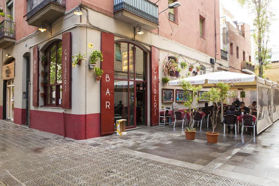 bar calders alfresco bar Barcelona